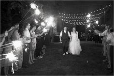 If I get married late enough at night I'm totally doing sparklers!