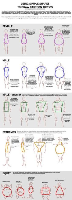 How to draw different Body shapes - human anatomy - Drawing Reference Drawing Lessons, Drawing Techniques, Drawing Tips, Drawing Ideas, Sketch Drawing, Drawing Challenge, Drawing Art, Art Drawings, Drawing Faces