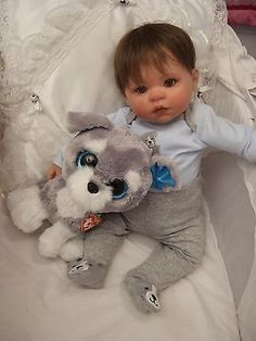 ADORABLE LIFE LIKE REBORN BABY  BOY DOLL FOR VALENTINES DAY!!!