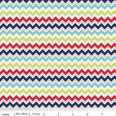 Doohikey Designs - Dress Up Days - Chevron in Blue