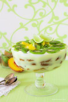 BABS (R)EVOLUTION: Trifle con pesche e kiwi