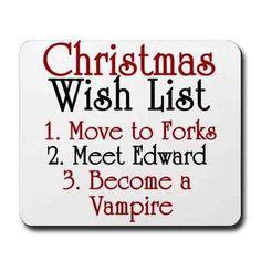 Every year I wish