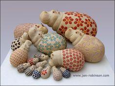 stone ware - 'po-pot-ames by Hippopottermiss