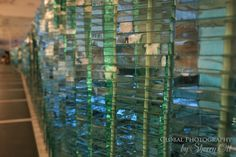A beaturiful glass exhibit at the Victoria and Albert Museum in London - always free!