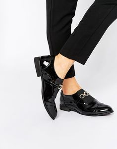 Metal Trim Loafer - Black patent Truffle Buy Cheap Price Cheap Sale Best Seller Clearance Store Sale Online Sast Cheap Price Cr9irA