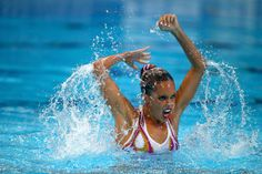 Ona Carbonell Photos: Synchronised Swimming - 16th FINA World Championships: Day One