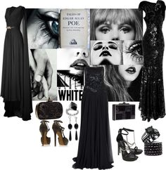 """""""BLACK AND WHITE."""" by figenozkilic on Polyvore"""