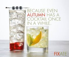 Sometimes you just want to sit back and relax with a cocktail. Don't worry; you can still do this in moderation while on 21 Day Fix. In Fixate, Autumn will show you how to be the bartender of your kitchen without packing on the calories.