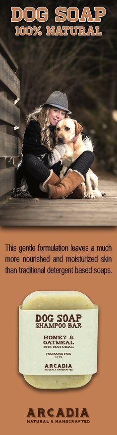 Honey & Oatmeal Dog Shampoo Bar