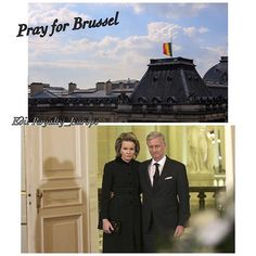 Edit Royalty_EuropeThe King and Queen of belgium are upset by the attacks at the airport of Brussels-National and in the metro in Brussels. These actions are abhorrent and cowards. The emotional thoughts of the King and the Queen are first with the victims and their families and to the emergency services who shall make every effort to provide assistance to victims. — Statement released from the Royal Place in Brussels #prayforbrussels #penseespourbruxelles #kingfilipe #queenMathilde
