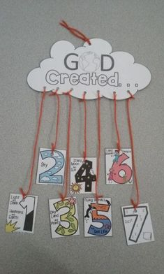 sunday school crafts for.kids - Yahoo Search Results Sunday School Crafts For Kids, Bible School Crafts, Bible Crafts For Kids, Sunday School Activities, Sunday School Lessons, Preschool Activities, Creation Preschool Craft, Kids Bible, Gods Creation Crafts