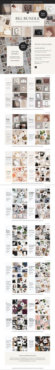 BIG Bundle: 95% OFF Photos & Mockups #scenecreator #TemplateDesign #seamlesspattern #pin #cookie #mockupbundle #seamlesspaper #bar #photoshop #templates #mockups #moodboard #mockup #tagmockup #pantone #contemporary #bags #pattern #modern Mockup Creator, Phone Mockup, Fruit In Season, Business Card Mock Up, Scene Creator, Mockup Templates, Web Design, Photoshop, Things To Sell
