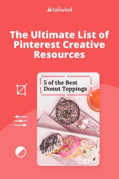 Stumped on Pin design? Lessen the Pinterest learning curve with our hand-picked library of creative resources to level up your Pinterest game!