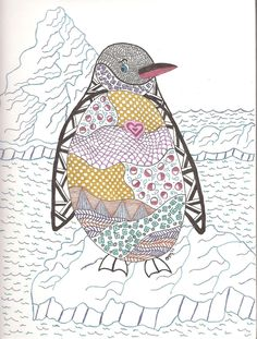 Penguin created as a surprise for my friend Whitney.