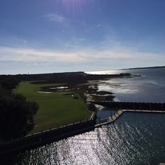View of the RBC Heritage Golf Course in Hilton Head. April 16 - 19, 2015!! #PGA, #Golf, #GolfsLuxuryLiving