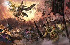 Tactics: Terrain in Age of Sigmar Warhammer Aos, Warhammer Fantasy, Warhammer 40000, Medieval Fantasy, Sci Fi Fantasy, Fantasy World, Stormcast Eternals, Age Of Sigmar, Geek Art