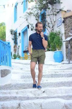 H&M Polo Shirt, H&M Short, Soludos Espadrilles, Daniel Wellington Watch #mensfashion #menswear #mensstyle #streetstyle #style #outfit #ootd