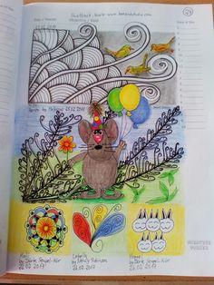 Seite 24: Shattuck, Heron, Kali, Lobella, Hoppel (Maus von Pinterest)