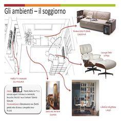 Esami finali Corso di Interior Design (www.madeininterior.it): Progetto di interni di Stefania Cedrangolo