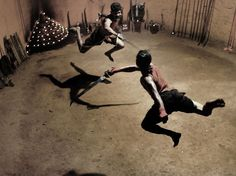Kalaripayattu Fighters Picture -- Martial Arts Photo