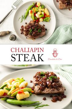 Learn how to make chaliapin steak with step by step photos and instructions! This tried and tested recipe, inspired by Shokugeki no Soma (aka. Food Wars!) is an amazing steak dinner that everyone is sure to love!