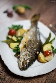 Saibling in Pergament, Fisch in Pergament, Saibling und Gemüse Ofen, Fish and vegetables in parchement, fish parchement, oven fried fish, char in parchement
