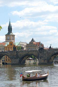 A ride on the river - Prague, Czech Republic