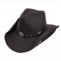 33f409c8a94 Roxbury - Leather Cowboy Hat Hats For Men