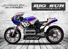 "BMW K100 Cafe Racer Enduranced ""MythiK"" by Designer's Cut #motorcycles #caferacer #motos 