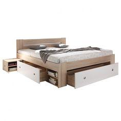 Letto in legno massello TiaWOOD | Bett, Stauraum und Schlafzimmer