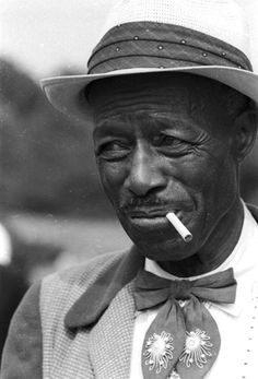 Blues man, Son House, 1965.