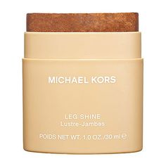 Michael Kors Leg Shine: Shop Bronzer & Self Tanner | Sephora - i adore this as a quick leg moisturizer for summer...goes on light, not greasy and smells so luscious, you almost don't need to wear a fragrance.  doesn't impart color, just a healthy glow.
