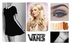 """""""The Little black dress"""" by christina-cookie ❤ liked on Polyvore featuring Vans, women's clothing, women, female, woman, misses and juniors"""