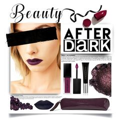 """""""Beauty After Dark"""" by mrsjillc ❤ liked on Polyvore featuring beauty, Lime Crime, NARS Cosmetics, Smashbox, Marni, Le Métier de Beauté and afterdark"""