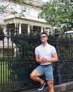 Moda masculina SIGA_NOS  Best Mens Fashion, Men's Fashion, Fashion Outfits, Casual Wear, Men Casual, Gay Outfit, Summer Outfits Men, Rave Wear, Summer Looks