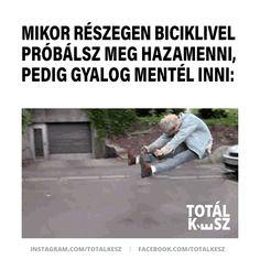 #viccek #vicceskép #viccesképek #viccesgif #viccesvideok #humoroskepek #poén #poénos #mém #mémek #magyarmeme #magyarmemek #hülyeség #hülyeségek #nevetés #nevess #részeg #bicikli Facebook Sign Up, Funny, Living Alone, Ha Ha, Hilarious
