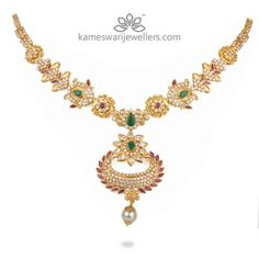 Multicolor Chandbali Short Necklace Wedding Jewelry, Gold Jewelry, Jewellery, Short Necklace, Gold Necklace, Simple Necklace Designs, Neck Piece, Indian Jewelry, Jewelry Collection