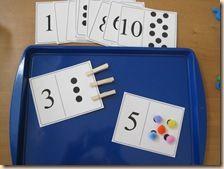 Pre K number dot cards Preschool Learning, Kindergarten Math, Preschool Activities, Math Literacy, Numeracy, Number Activities, Math Manipulatives, Kids Math, Math Numbers