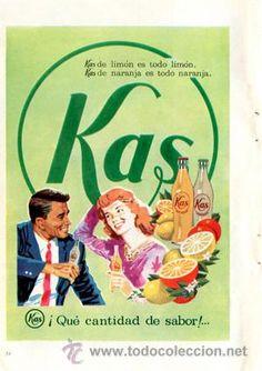 Página de publicidad Original *KAS* Vintage - Retro --- Año 1962