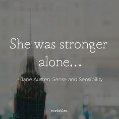 """Sad Love Quotes :    QUOTATION – Image :    Quotes Of the day  – Life Quote  """"She was stronger alone…""""  Sharing is Caring  - #Love https://quotestime.net/sad-love-quotes-she-was-stronger-alone/"""