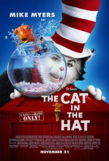 DR. SEUSS' THE CAT IN THE HAT.  Director: Bo Welch.  Year: 2003.  Cast: Mike Myers, Spencer Breslin, Dakota Fanning, Alec Baldwin
