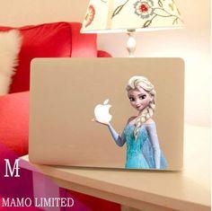 Mac Book , Disney sticker :D