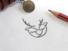 Deer Mark Sketch