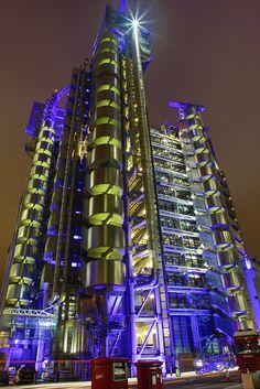 The Lloyd's Building, London
