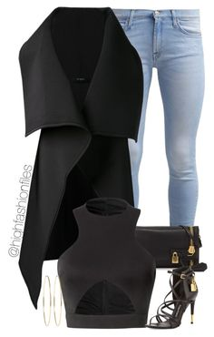 """""""Untitled #1856"""" by highfashionfiles ❤ liked on Polyvore"""