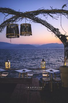 Evening in Nafplio, Greece Need A Vacation, Vacation Spots, Beautiful World, Beautiful Places, Romantic Places, Outdoor Retreat, Paradis, Beach Hotels, Travel Abroad