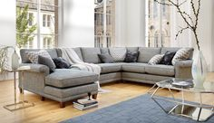 Domus Haywood Corner Modular Sofa | Sofas | Darlings of Chelsea The Duresta Haywood Corner Sofa offers comfortable style and incredible flexibility. With a choice of nine different sectional pieces to build your design from, and a variety of fabrics and colours and choose from, this gorgeous corner sofa will suit almost any interior.