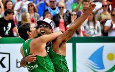 Blog Esportivo do Suíço: Pedro/Álvaro bate campeões mundiais e leva título na Polônia