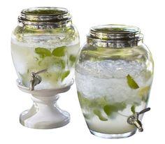 Glass Drink Dispenser - Pottery Barn