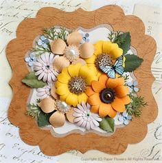 またまたペーパーフラワーのバラを量産の画像 | ペーパーフラワー(紙の花)の教室 〜Paper Flowers